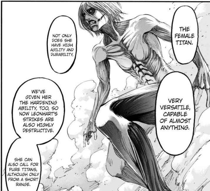 Annie Titan Form Chapter 95