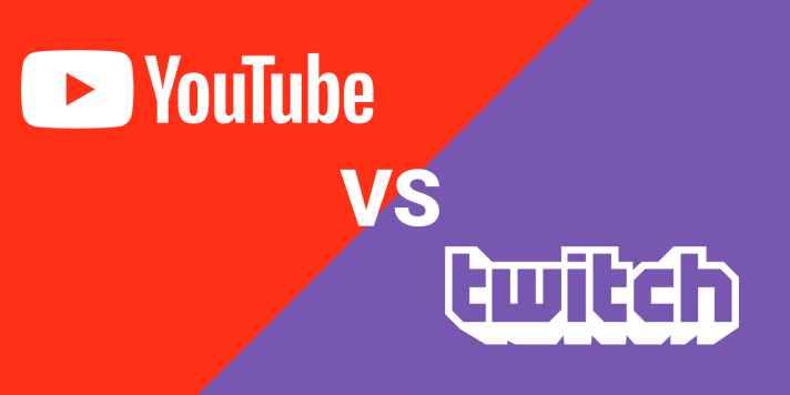 Image result for youtube vs twitch